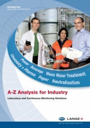 A-Z Analysis for Industry - Filter