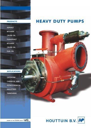 opzet Heavy duty pumps - Filter