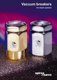 Vacuum Breakers for Steam Systems - Filter