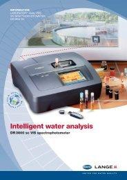 Intelligent water analysis DR 3800 sc VIS spectrophotometer - Filter