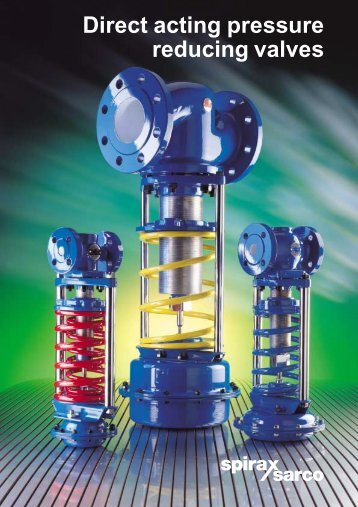 Direct Acting Pressure Reducing Valves - Filter