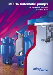 MFP14 Automatic Pumps for Condensate and other Industrial ... - Filter