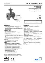 BOA-Control IMS - Filter