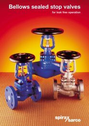 Bellows Sealed Stop Valves for Leak Free Operation - Filter