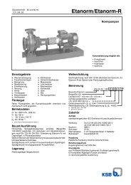 Etanorm/Etanorm-R - Filter