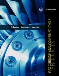 GE Power Systems Gas Turbine and Combined Cycle Products - Filter