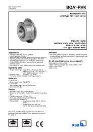 7119.1 BOA RVK in Armaturen (GT) in Englisch in Entwurf ... - Filter