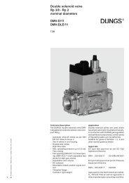 Double solenoid valve Rp 3/8 - Rp 2 nominal diameters DMV ... - Filter