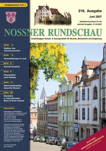 216. Ausgabe - Nossner Rundschau