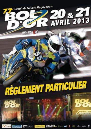 104/01 Règlement Particulier_Bol D'Or - FIM