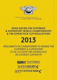 road racing fim superbike & supersport world championships & fim ...