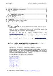 2. BlueJ auf die deutsche Version umstellen - Universität Passau