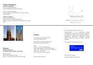 Monumentalbauwerke – Archivsystem