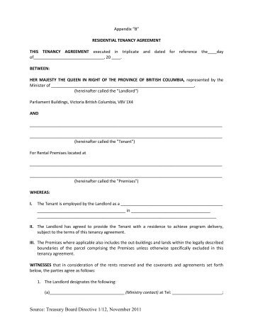 Fixed Term Tenancy Agreement Form 24a Department Of Commerce