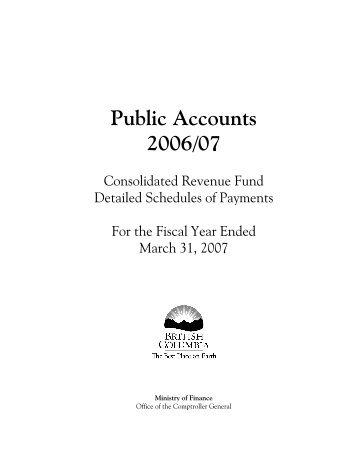 Detailed ScheduleTP.cvw - Ministry of Finance