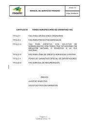 SISTEMA DE ACTUALIZACIÓN - Finagro