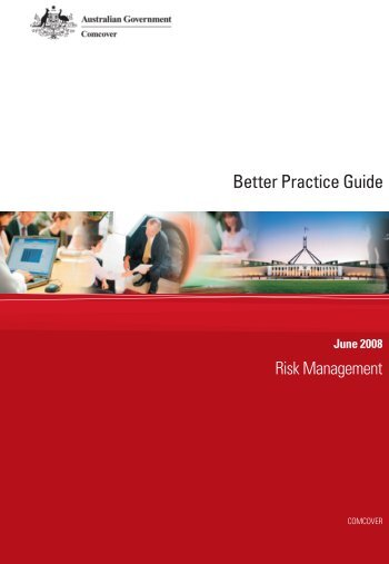 Better Practice Guide - Risk Management - Department of Finance ...