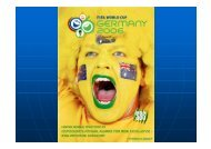 FIFA World Cup - Germany 2006 - Department of Finance and ...