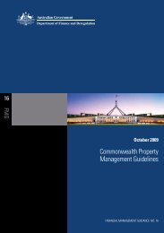 commonwealth Property management guidelines - Department of ...