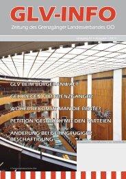 GLV News 1/2013 Zeitung des Grenzgängerverbandes OÖ