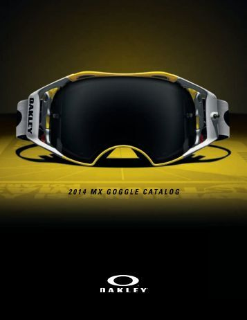 Oakley MX Google Catalog 2014