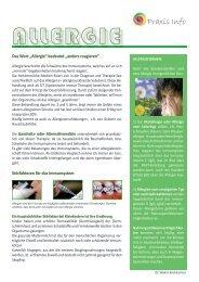 Praxis-Info blatt Allergie - bachlechner.com