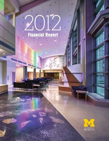 Financial Report - Finance - University of Michigan