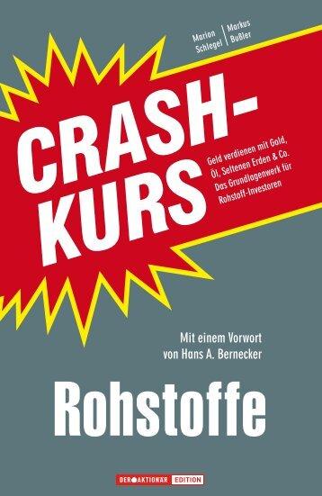 "Leseprobe ""Crashkurs Rohstoffe"" - Financebooks.de"