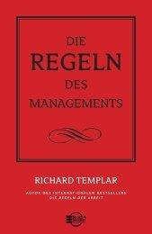Die Regeln des Managements - Buchhandel.de