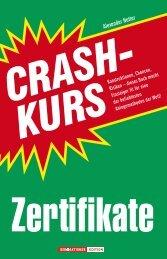 Crashkurs Zertifikate - boersenbuchverlag.de
