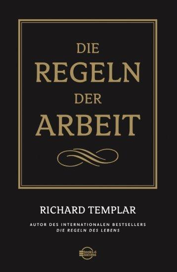 """Leseprobe """"Die Regeln der Arbeit"""" - Financebooks.de"""