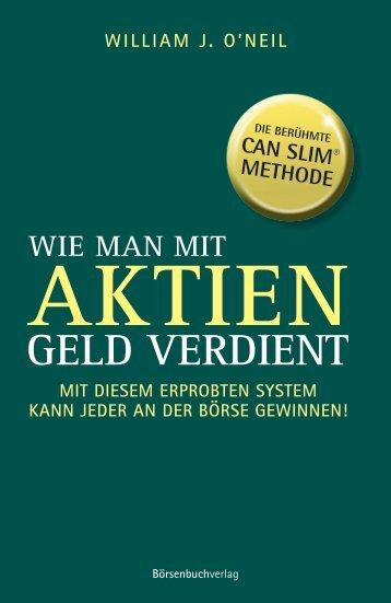 """Leseprobe """"Wie man mit Aktien Geld verdient"""" - Financebooks.de"""