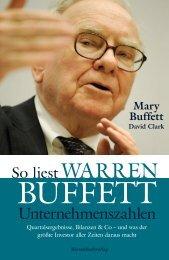 So liest Warren Buffett Unternehmenszahlen - Financebooks.de