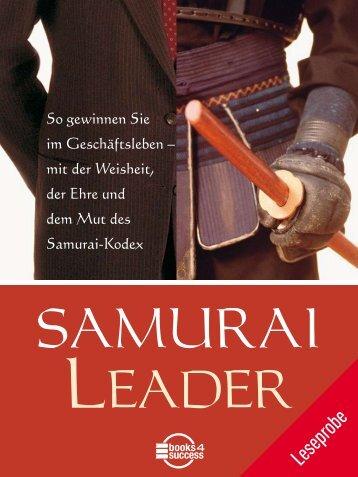 "Leseprobe ""Samurai Leader"" - Books4Success"