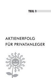 Leseprobe - boersenbuchverlag.de