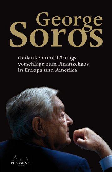 """Leseprobe """"George Soros: Gedanken und ... - Financebooks.de"""