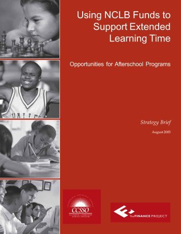 Using NCLB Funds to Support Extended Learning Time