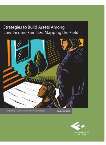 Strategies to Build Assets Among Low-Income Families