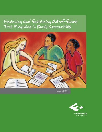 Financing and Sustaining Out-of-School Time Programs in Rural ...