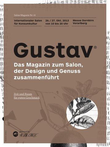 Das Magazin zum Salon, der Design und Genuss zusammenführt