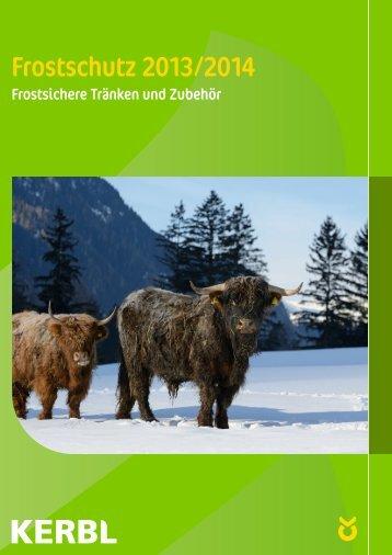 Frostschutz 2013/2014