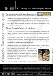 Interview - City Index - Financial Spread Betting