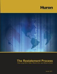 The Restatement Process - Financial Executives International