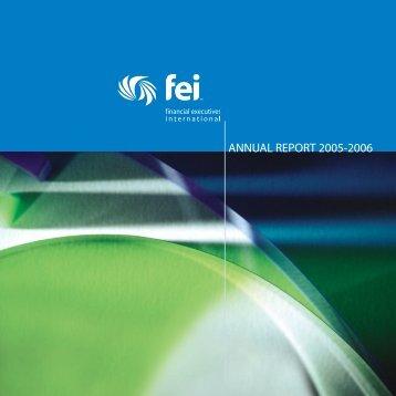 AnnualReport 06 - Financial Executives International