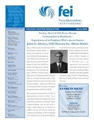 FEI Newsletter March 2005.p65 - Financial Executives International
