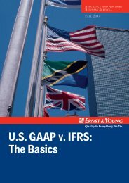U.S. GAAP v. IFRS: The Basics - Financial Executives International