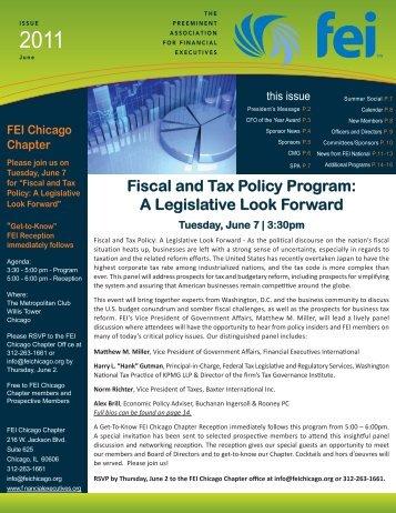 FEI Newsletter June 2011.indd - Financial Executives International