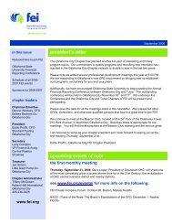 September 2006 Newsletter - Financial Executives International