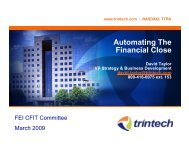 Automating The Financial Close - Financial Executives International