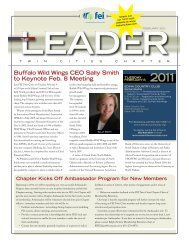 February 2011 Leader - Financial Executives International